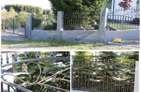 ogrodzenie kute ręcznie